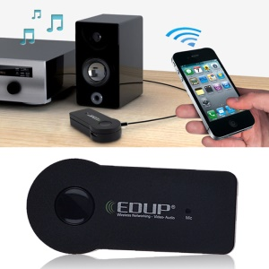 EDUP EP-B3511 Mini 3.5mm Input Car Bluetooth V3.0 Music Audio Receiver Adapter