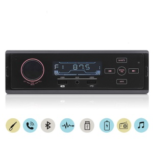 Car Bluetooth FM Radio Receiver U Disk MP3 Player