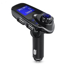 T11 Bluetooth Car Kit Music Adapter Transmissor FM com carregador USB duplo (CE / FCC / RoHS)