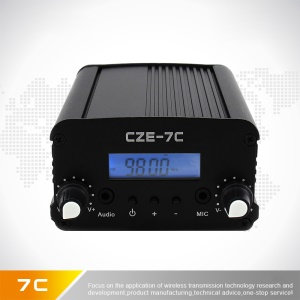 7W Stereo Good Sound Quality FM Broadcast Transmitter