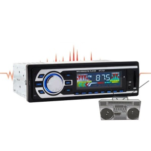 Car FM Audio Stereo Receiver with USB MP3 Radio Player + Remote Control (HP-2127)