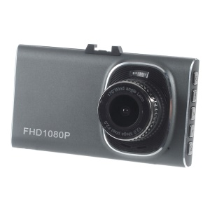 GT900 Super Slim 1080P Full HD Car DVR Camcorder 3.0-inch 170-Degree Wide Angle