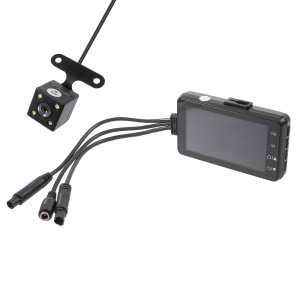 Two Channels HD 1080P Motorcycle Recorder Night Vision Motorcycle Recording Camera