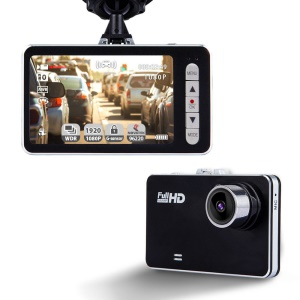 W1 1080P HD Mini Car Dash Camera 140 Degree Wide Angle Lens Car DVR with G-Sensor WDR