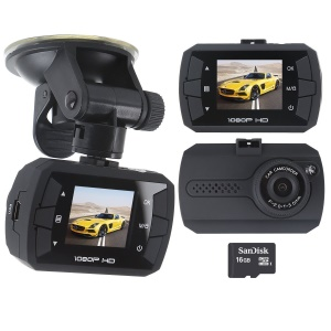 W2 1080P Full HD 120 Degree Wide Angle Lens Car Video Recorder Car DVR with G-Sensor