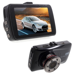 H802B Mini Car Dash Cam 3.0'' LCD Full HD 1080P 140 Degree Wide Angle Car BlackBox DVR Vehicle Video Recorder