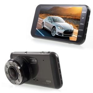 H16 4.0-inch LCD Full HD 1080P Vehicle DVR Recorder with 140° Viewing Angle