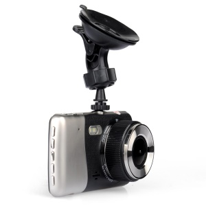 "4"" 1080P Car Video Recorder DVR Dual Camera 120-Degree View Angle (TH-H85-96658)"