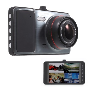 """S189 4"""" HD Car DVR Camcorder 170° Wide Angle Camera Recorder Support Infrared Night Vision"""