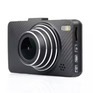 Z12 3-inch Car DVR Camcorder 1080P HD 140 Degree Wide Angle Infrared Night Vision Camera - Black