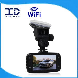 W8000 2.7-inch 1080P HD Dual Camera Car DVR, Support WiFi Connection / Parking Detection / Cycle Recording Etc