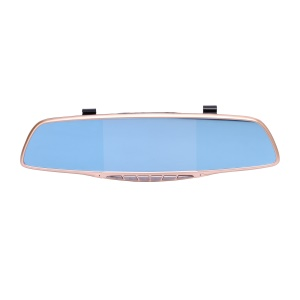 C109 5-inch Rose Gold Frame Car Video Recorder Car DVR Camera with 170 Degree Wide Angle