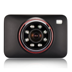 Z15 2.7 inch Full HD Car DVR 170° Wide Angle Car Camera Recorder with Powerful Night Vision - Black