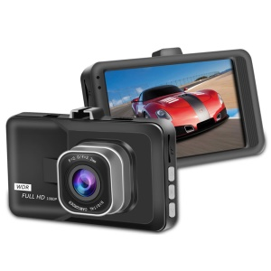 3-inch Full HD 1080p Mini Car DVR Camera, Supports Cyclic Recording/ G sensor/ Motion Detection Etc