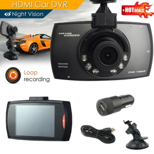 H300 Full HD 1080P 2.7-inch Car DVR CCTV Dash Camera G-sensor Night Vision Recorder