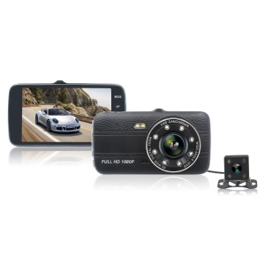 X17 1080P Full HD Dual Lens Camera Car DVR Camcorder with with G-sensor 170 Degree Wide-angle