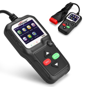 KONNWEI KW680 OBDII/EOBD Scanner OBD2 CAN Bus Code Reader - Black
