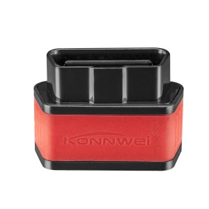 KONNWEI KW903 Diagnosing Scanner ELM327 Bluetooth 3.0 Supports All OBD-II Works On Android - Black / Red