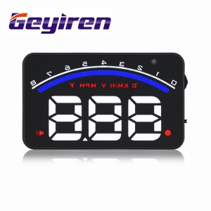 GEYIREN M6 3.5-inch Vehicle Car GPS Head UP Display OBDII Interface HUD (CE/RoHS/FCC)