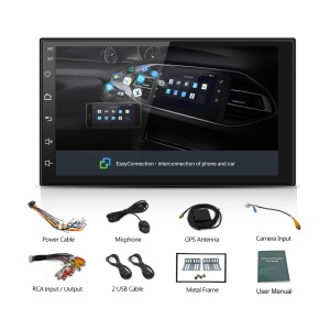 SP-AT2018 Android 8.1 7-Zoll-intelligenter GPS-Navigations-Multimedia-Player