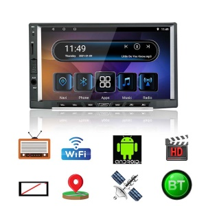 GY-ZP7188 Android 8.1 7 Pollici IPS Capacitivo GPS Touch Car Autoradio