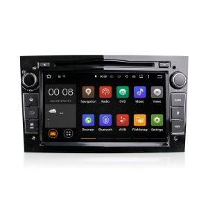 7 Inch Android 5.1.1 Quad-core RK3188A WiFi Bluetooth GPS Tracking Car DVD Player for Opel - Black