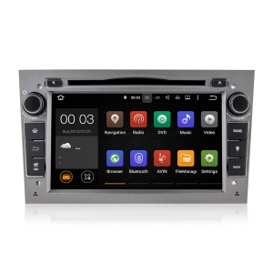 Android 5.1.1 Quad-core RK3188A 7 Inch Screen Car DVD Player with WiFi Bluetooth GPS for Opel - Grey