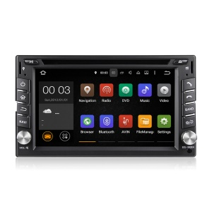 6.2-inch Capacitive Touch Screen Double Din Android 5.1 Quad-core WiFi Car DVD Player DU6539