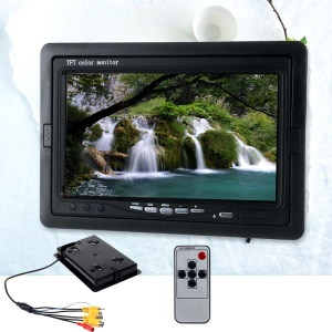 7.0-inch TFT LCD Car Rear View Monitoring Monitor with 4CH Video Inputs (CX708D-4AV)