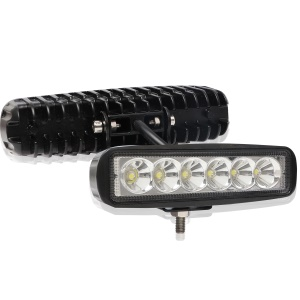 18W-S-30degree Automobile Motorcycle 18W LED Work Light Bar Driving Lamp