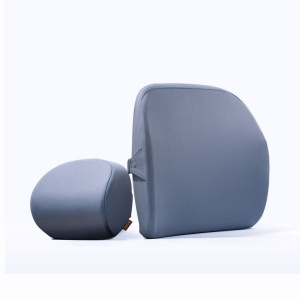 XIAOMI ROIDMI HJHY01RM Memory Foam Car Head Pillow and Waist Support Pad for Relieve Fatigue and Discomfort - Dark Grey