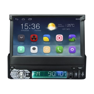 Android 5.1 Car Stereo 7 inch 1024x600 GPS Navigation Radio Bluetooth Player RM-CT0008