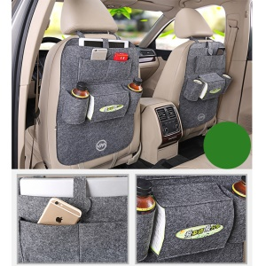 JOYROOM Car Vehicle Seat Back Multi-pocket Collector Travel Storage Bag CY130 - Grey