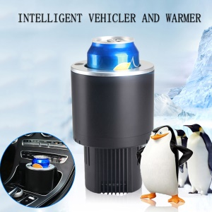 Easy Operation Lightweight Vehicle-mounted Double Mode Cold and Hot Cup Holder for Travel, Trip etc.