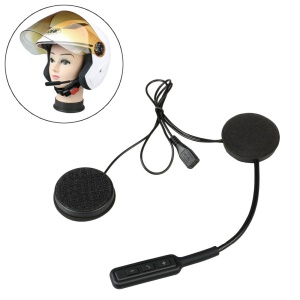 BT8 Motorcycle Helmet Bluetooth Headset Wireless Earphone Hands-free Speakers Music Headphone