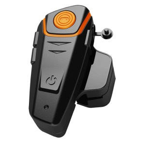 BT-S2 1000m IP67 Waterproof Moto Helmet Bluetooth Headset Motorcycle Intercom - EU Plug