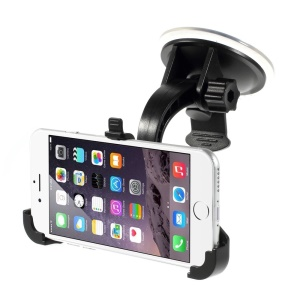 360-degree Rotary Suction Cup Car Mount Cradle for iPhone 7 6s 6 4.7 inch