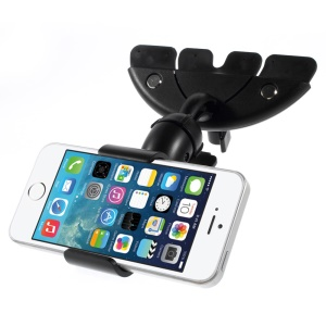 HX-M-X10 Universal CD Slot Smartphone Car Mount Holder Cradle para iPhone 6 Plus Samsung Galaxy S5 G900, Max largura: 113mm