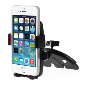 HX-M-X10 Universal Car CD Slot Mount Holder Stand Cradle para iPhone 5s Samsung Galaxy S5 mini G800, Largura: 50 - 73mm