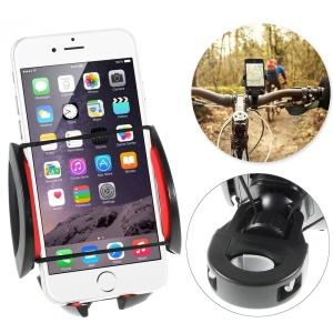 HX-M-X5 Universal Bike Bicycle Phone Mount Holder Stand para iPhone 6 Plus Samsung Galaxy Note 4 N910, Largura: 50-90mm