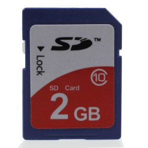 2GB High Speed Class 10 SDHC Memory Card