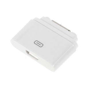 Micro USB to Magnetic Charger Port Converter Adapter for Sony Xperia Z2 Z1 Z Ultra XL39H - White