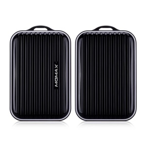 MOMAX iPower GO mini Traveling Case 8400mAh 2.4A External Battery Pack - Black