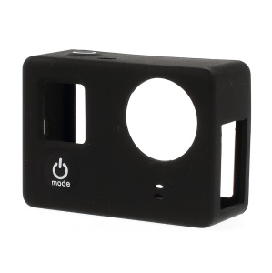 Protective Soft Silicone Cover for Gopro Hero 3 3+ without LCD BacPac - Black