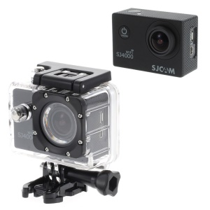 SJCAM SJ4000 12MP 1080P Full HD 2-inch Waterproof Sports DV Camera WiFi - Black