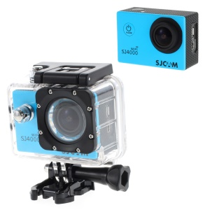 SJCAM SJ4000 12MP 1080P Full HD 2-inch Waterproof Sports DV Camera WiFi - Blue