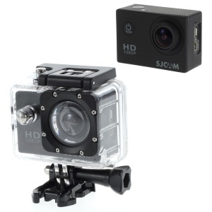 SJCAM SJ4000 12MP 1080P Full HD 2-inch Waterproof Sports Camcorder DV 170 (OEM) - Black