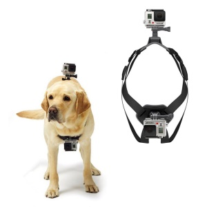 Fetch Dog Harness Chest Shoulder Strap Belt Mount for GoPro Hero 4/3+/3/2/1 SJ4000/5000/6000