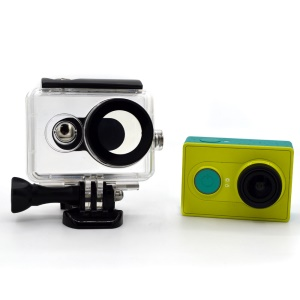 30M Waterproof Housing Case for Xiaomi Yi Action Camera - Black