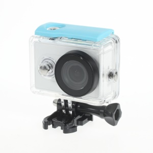 30M Waterproof Housing Case for Xiaomi Yi Action Camera - Blue